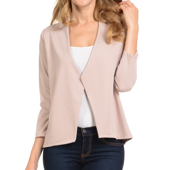 3a93b7ec27726 Tan Blazer for Women. Boutique. Magic Fit